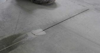 Sellado de juntas en el pavimento de hormigón